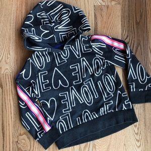 Girls cat & jack hoodie size xs